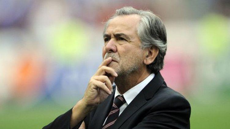 Le président toulousain Jean-René Bouscatel (LIONEL BONAVENTURE / AFP)