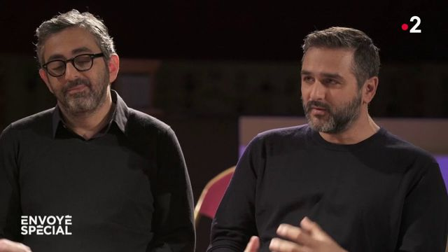 """Eric Toledano et Olivier Nakache racontent à """"Envoyé spécial"""" les coulisses du film """"Hors normes"""""""