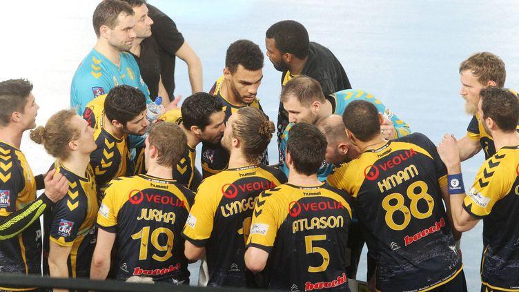 Les joueurs de Saint-Raphaël (PH ARNASSAN / MAXPPP)