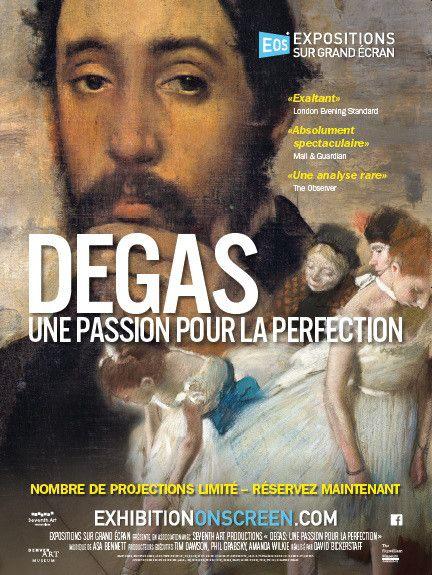 """""""Degas : une passion pour la perfection"""" : l'affiche  ( Seventh Art Productions)"""