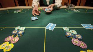 Dans un casino de Moscou (Russie), le 26 juin 2009. (ILIYA PITALEV / RIA NOVOSTI / AFP)