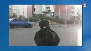 Hasna Aït Boulahcen sur une photo non datée utilisée par France 2. (FRANCE 2)