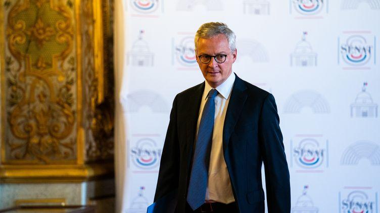 Le ministre de l'Economie Bruno Le Maire, à Paris, le 1er juillet 2020. (XOS BOUZAS / HANS LUCAS / AFP)