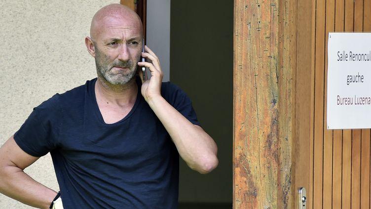 Fabien Barthez, le directeur général de Luzenac  (PASCAL PAVANI / AFP)