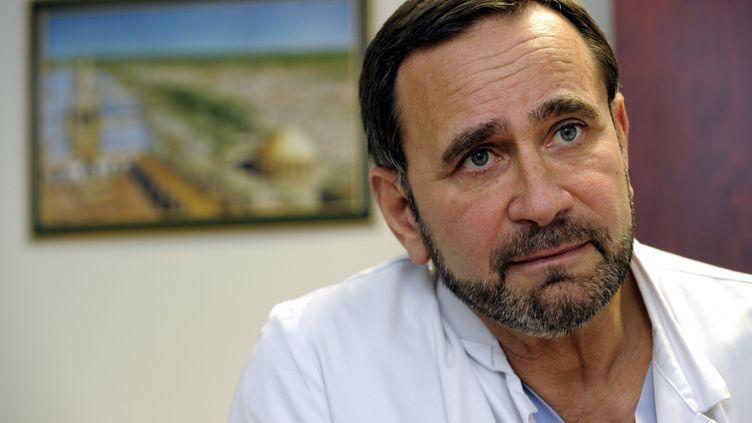 Raphaël Pitti,conseiller municipal déléguéaux urgences sanitaires, sociales et humanitaires à Metz, le 13 janvier 2014. (/NCY / MAXPPP)