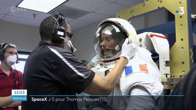 Espace : départ imminent pour Thomas Pesquet