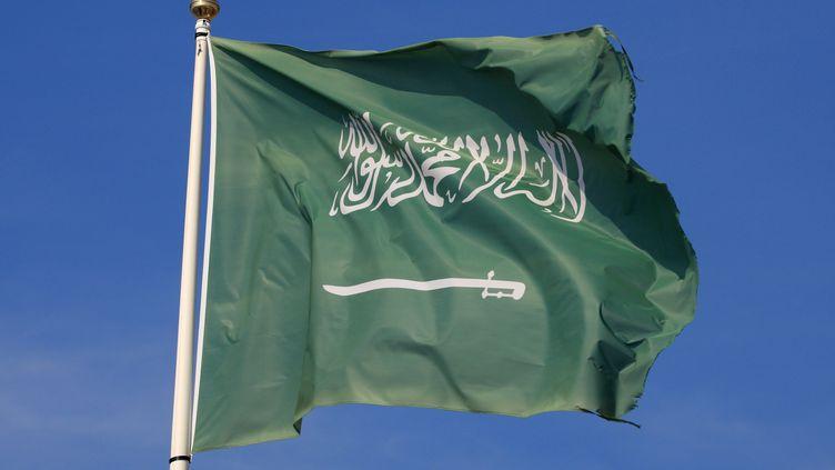 (Le drapeau de l'Arabie saoudite©MAXPPP)
