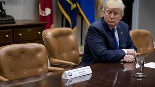 Donald Trump est à la Maison Blanche, à Washington (Etats-Unis), le 28 novembre 2017. (JIM WATSON / AFP)