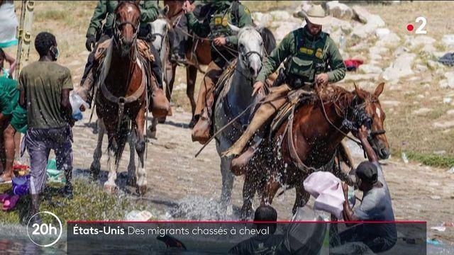 États-Unis : le pays ébranlé par les images de gardes-frontières à cheval repoussant des migrants