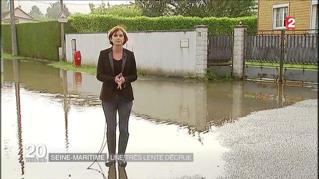 Seine-Maritime : une très lente décrue