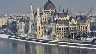 Le Parlement hongrois, installé sur les bords du Danube, à Budapest (AFP - ATTILA KISBENEDEK)