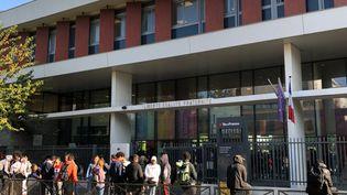 Le lycée Eugène Hénaff de Bagnolet, en Seine Saint-Denis, expérimente le décalage du début des cours de 8 à 9h cette année. (ALEXIS MOREL / RADIO FRANCE)
