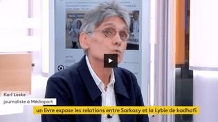 Karl Laske, journaliste à Mediapart et coauteur du livreAvec les compliments du guide, Sarkozy-Kadhafi, une histoire secrète (FRANCEINFO)
