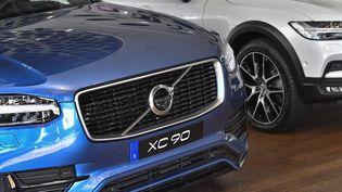 Le modèleXC 90 de Volvo est concerné par ce rappel. (JONAS EKSTROMER / TT NEWS AGENCY / AFP)