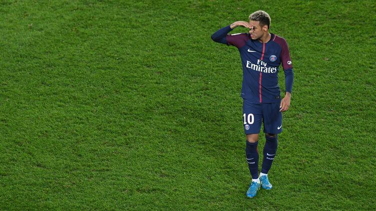 L'attaquant du PSG, Neymar.  (ALAIN JOCARD / AFP)