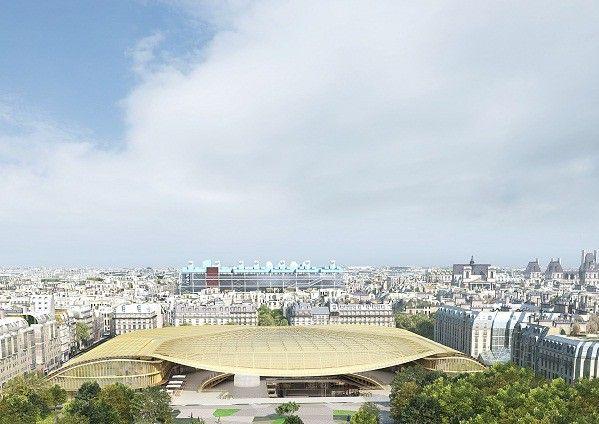 La Canopée du nouveau quartier des Halles par les architectes Patrick Berger et Jacques Anziutti   (Wikimedia / Commons)