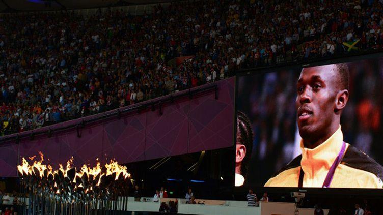 Usain Bolt encore star des JO avec son triplé à Londres quatre ans après celui de Pékin