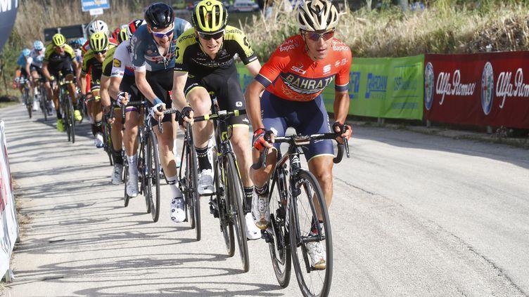 Domenico Pozzovivo sur le Giro 2018. (LUK BENIES / AFP)
