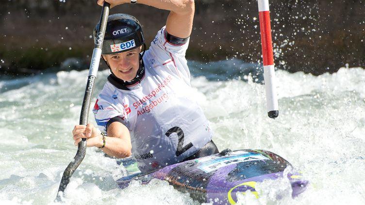Emilie Fer a terminé 20e des demis-finale (SVEN HOPPE / DPA)