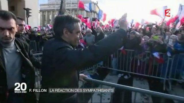 Rassemblement pour François Fillon au Trocadéro : la réaction de ses sympathisants