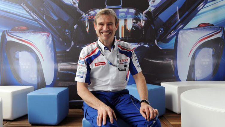 Pascal Vasselon le directeur technique de Toyota (JEAN-FRANCOIS MONIER / AFP)