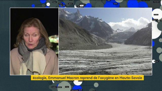Emmanuel Macron passe la nuit en Haute-Savoie avant de se rendre sur la Mer de Glace