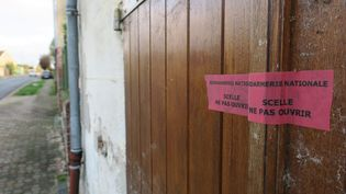 Le domicile du père Matassoli à Ronquerolles(Oise) où il a été retrouvé tué (JULIEN HEYLIGEN / MAXPPP)