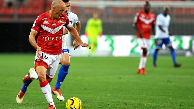 Le Valenciennois Robail a inscrit un doublé face à Auxerre (3-1).  (LO PRESTI / MAXPPP)