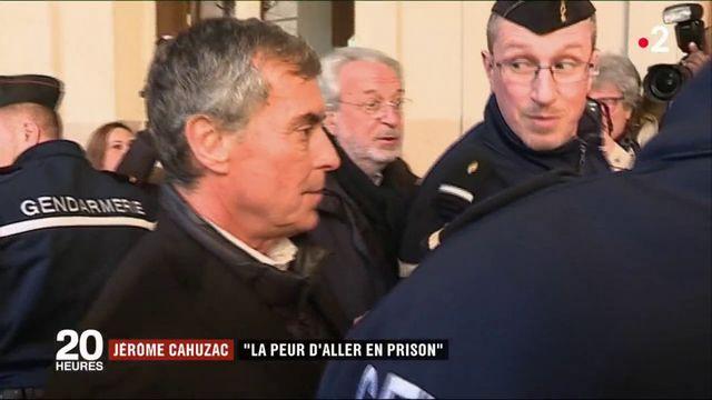 """Jérôme Cahuzac : """"La peur d'aller en prison"""""""