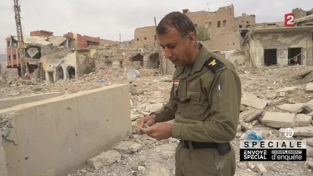 Les démineurs kurdes formés par les Français