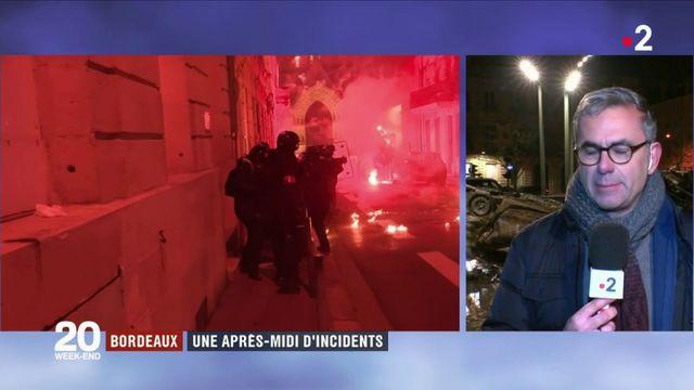 """""""Gilets jaunes"""" : de nombreux incidents à Bordeaux"""