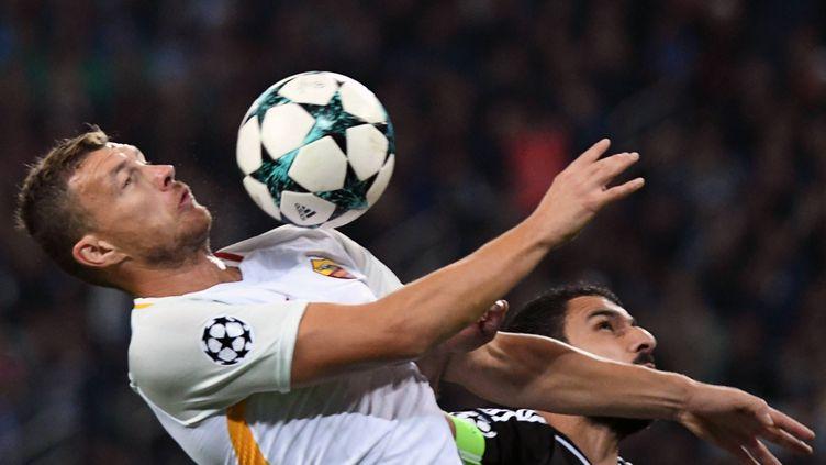 L'attaquant de la Roma Dzeko