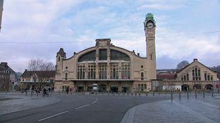La gare de Rouen Rive-Droite de style Art nouveau tardif. (France 3 Normandie)