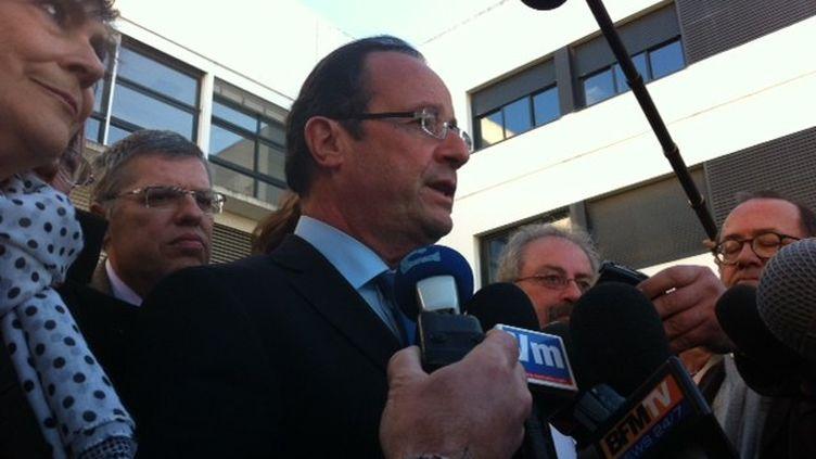 François Hollande à La Seyne-sur-Mer (PM)