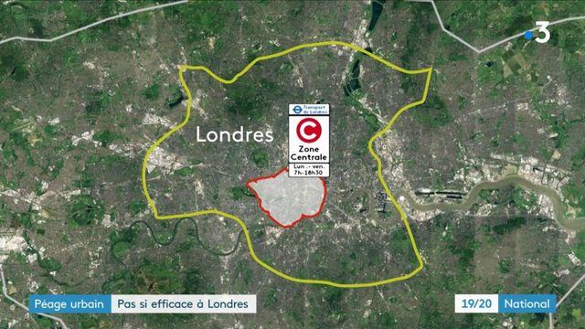 Péage urbain : le bilan est très mitigé à Londres