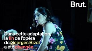 « À Florence, Carmen ne meurt pas » : polémique sur l'adaptation du célèbre opéra (BRUT)