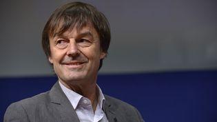Nicolas Hulot, le 10 décembre 2015. (ERIC PIERMONT / AFP)
