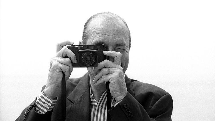 """Photo utilisée pour l'affiche de l'exposition """"Un président citoyen du monde _ Jacques Chirac, sous le regard d'Eric Lefeuvre. (Eric Lefeuvre / All rights reserved)"""