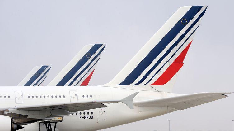 Les salariés d'Air France prévoient une grève à partir du 3 avril. (ERIC PIERMONT / AFP)