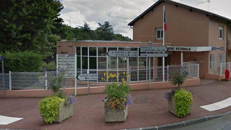 La caserne de gendarmerie de Limonest (Rhône). (GOOGLE STREET VIEW)