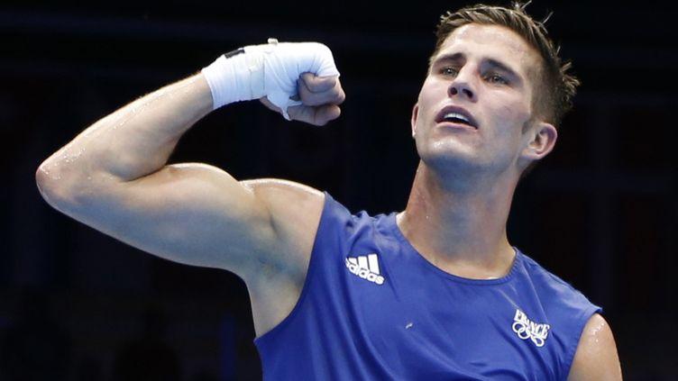 Alexis Vastine aux Jeux olympiques de Londres (Royaume-Uni), le 7 août 2012. (MURAD SEZER / REUTERS)