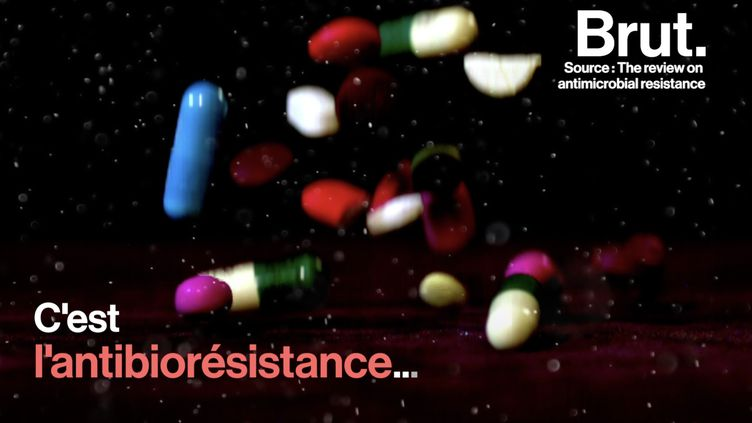 VIDEO. En 2050, l'antibiorésistance pourrait être une des premières causes de mortalité au monde (BRUT)