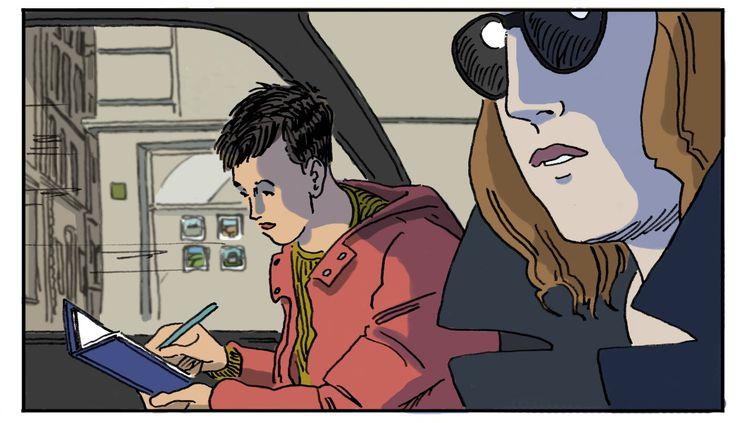 Chapitre 3, illustration de Luc Desportes (@LUC DESPORTES)