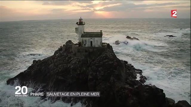 L'aventure de l'homme qui veut sauver le phare de Tévennec