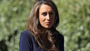 La directrice de communication de la Maison Blanche, Alyssa Farah, à Washington (Etats-Unis), le 8 octobre 2020. (CHIP SOMODEVILLA / GETTY IMAGES NORTH AMERICA / AFP)