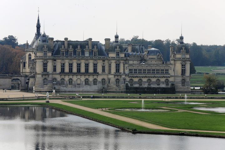 Le château de Chantilly et son parc (21 octobre 2020) (DOMINIQUE TOUCHART / PHOTOPQR / LE COURRIER PICARD / MAXPPP)