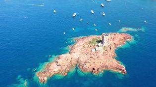 Le 12/13 du samedi 18 septembre se concentre sur l'île d'or situé aux abords de Saint-Raphaël dans le Var. Un îlot qui attire de plus en plus de plongeurs désormais.  (CAPTURE ECRAN FRANCE 3)