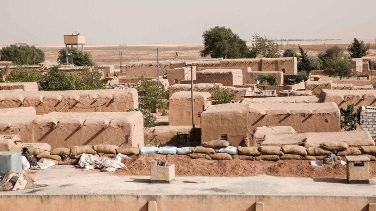 La commune de Tel Khanzir dans le kurdistan syrien. Photo d'illustration. (MAXPPP)