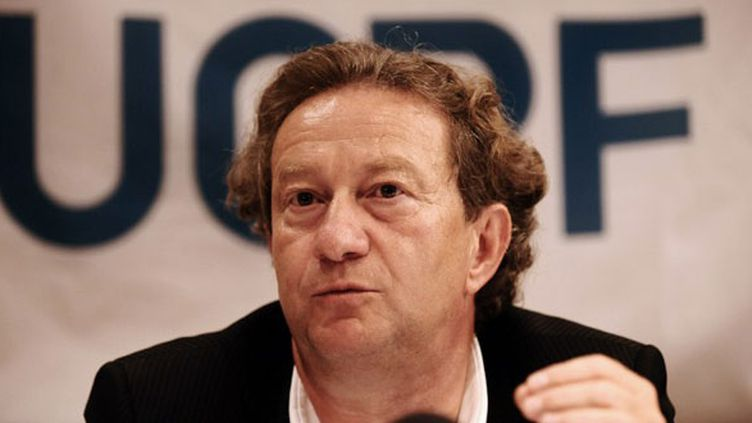 Le président du Havre, également président de l'Union des clubs professionnels de football Jean-Pierre Louvel