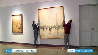Le musée des Beaux-arts de Pau se réorganise pendant la fermeture (France 3)
